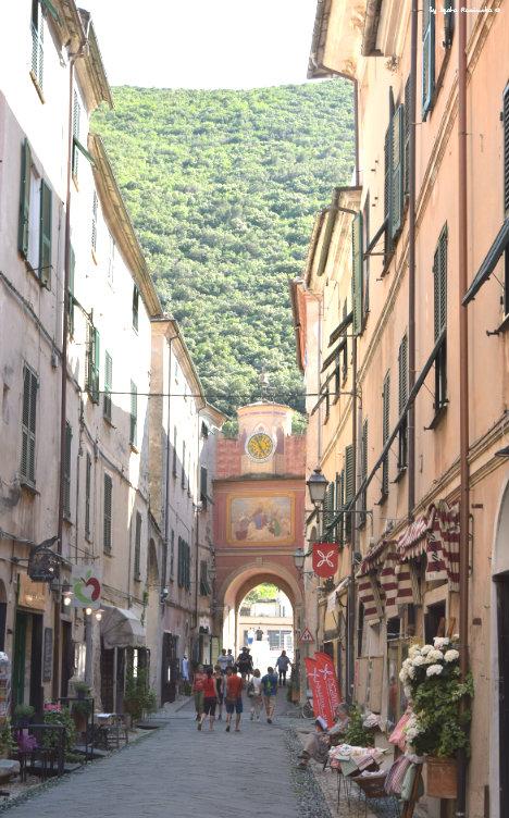 entrance to Finalborgo