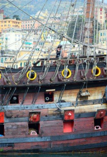galleon and Genoa