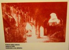 inside the roman cistern 70s