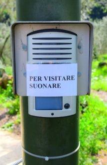 interphone of Villa Varignano