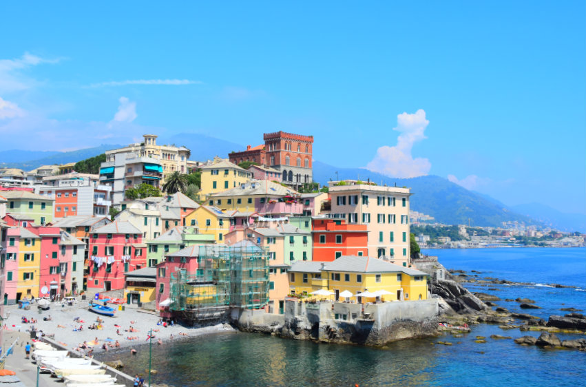 Boccadasse, the most charming district in Genoa!