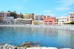 beach next to Boccadasse