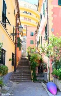 stairs in Boccadasse