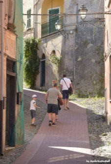 climbing in Liguria with children