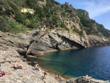 swimming Punta Chiappa