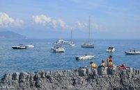 rocky beach Tino island