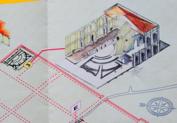 Roman theater of Luni