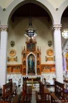 interiors church of Santo Stefano d'Aveto