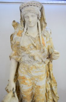 marble statute from ancient Luni Liguria