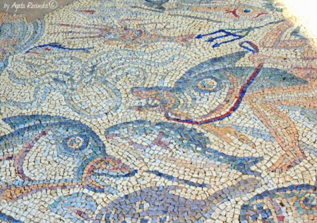 marine mosaic Luni