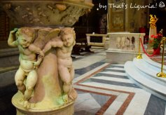 marble pulpit cathedral of Savona