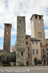 towers in Savona
