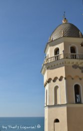 Vernazza's church bell tower