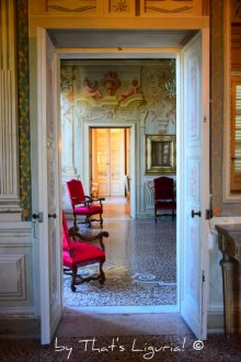 rooms of Villa Durazzo Centurione Santa Margherita Ligure