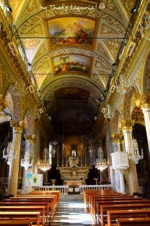 san giacomo church interiors