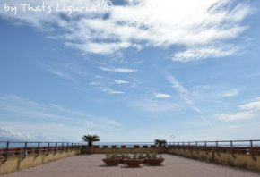 panoramic terace Arenzano sanctuary
