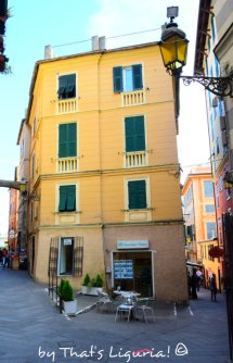 town centre Arenzano