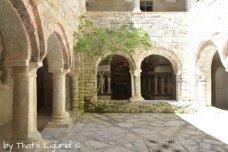 lower cloister San Fruttuoso