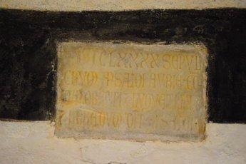 tombs details San Fruttuoso