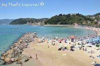 public beach San Terenzo
