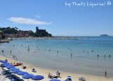 view on the beach Lerici