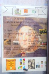 Columbus day in Cogoleto