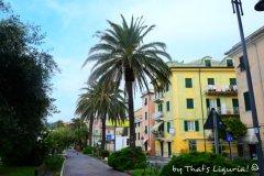 sea promenade Cogoleto