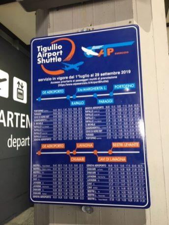 Tigullio shuttle