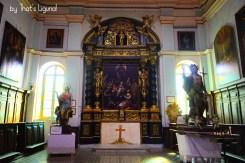 interiors of Collegiata in Triora