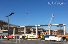 new motorway bridge in Genoa -January 2020