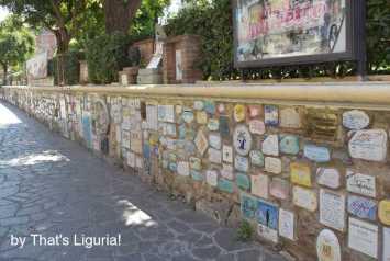 wall od Alassio