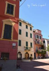 houses of Bonassola Liguria