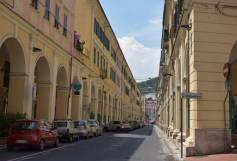street in Imperia Oneglia