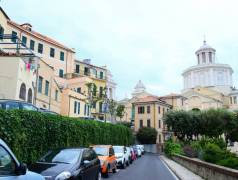 view on Porto Maurizio church
