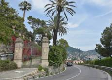 villa on the road to Recco