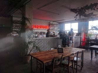 Netil House inside bar