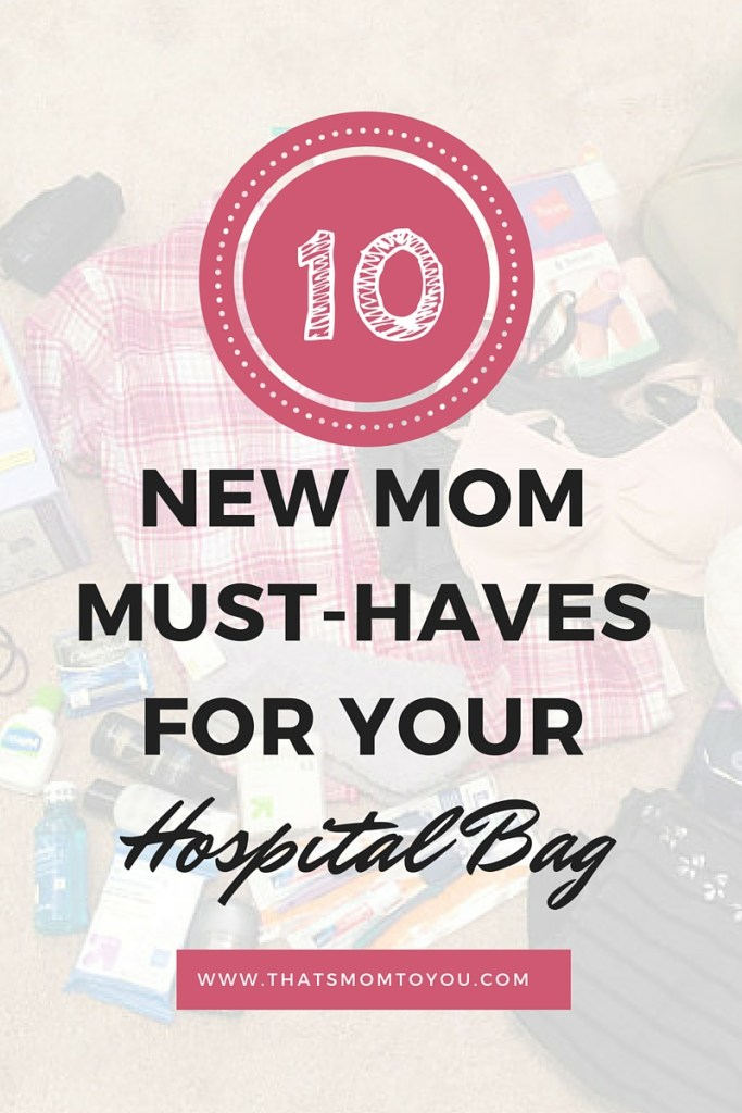 10 must haves for diaper bag