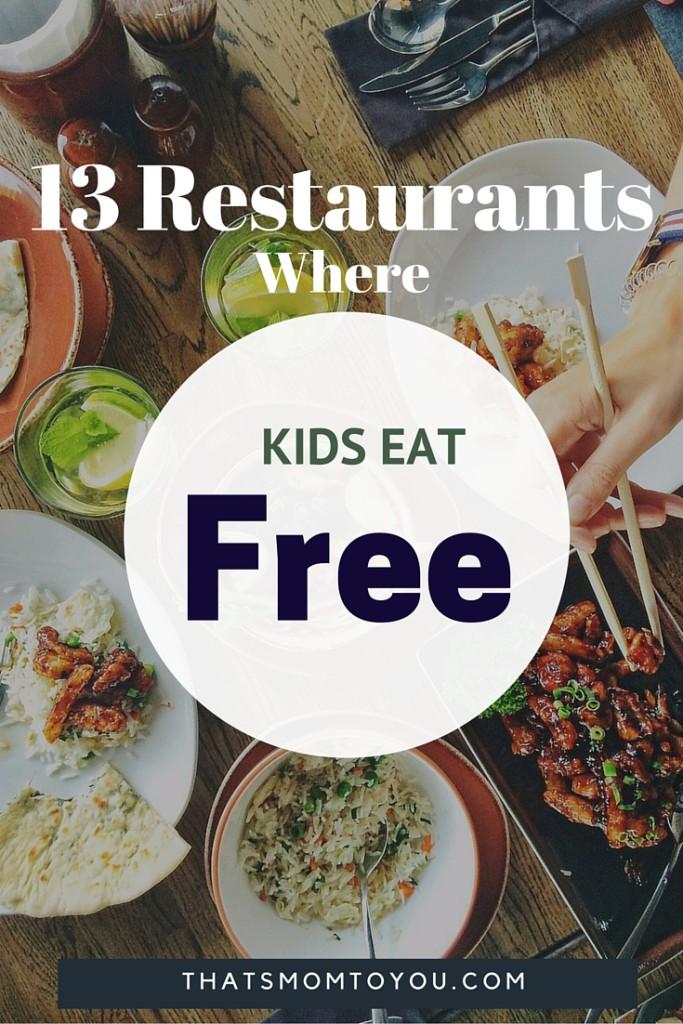 Cool Places Kids Eat