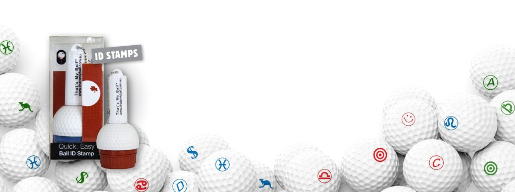 That's my Ball - Golf Ball ID Stamps