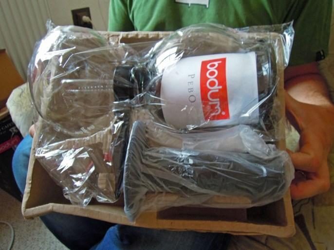 How Bodum Ships the Pebo Siphon Coffee Set