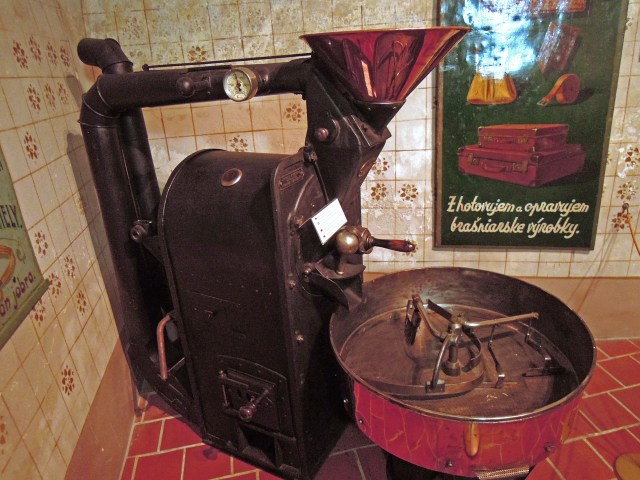 Old Coffee Roaster, Eastern Europe