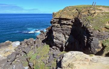 Edge of the ocean