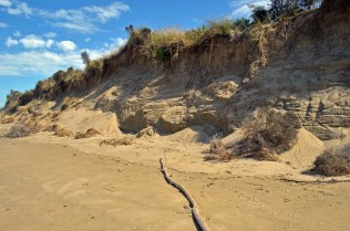 Sandy cliffs