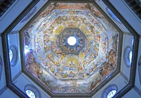 Closeup of Dome, Santa Maria Del Foire