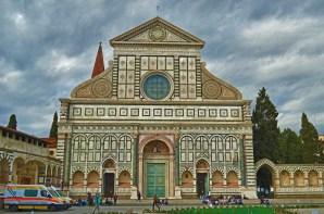 Santa Maria Novella, Gothic church with Renaissance Facade, built 1456-70