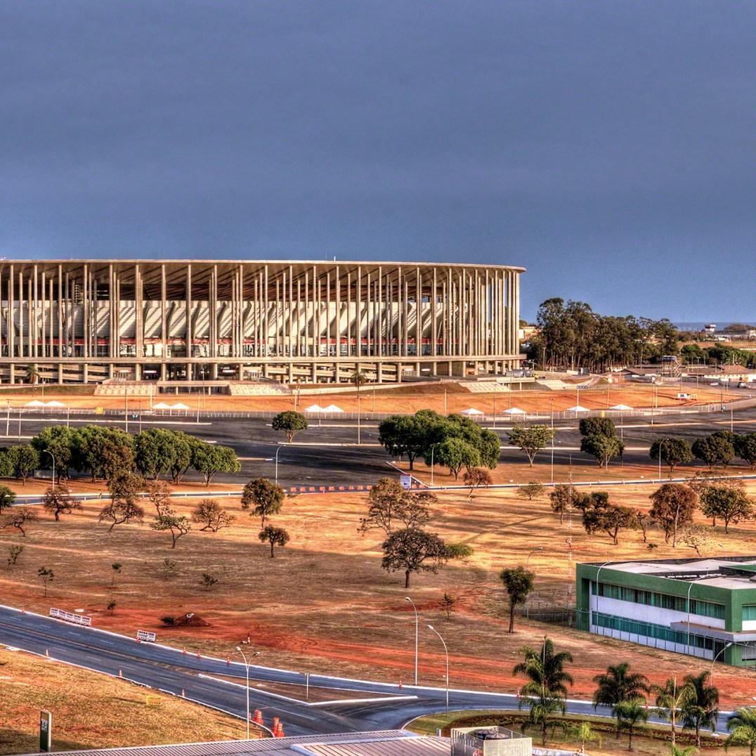 The Brazilian National Stadium