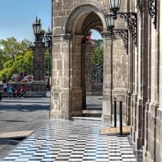 Checkered marble, Mexico City
