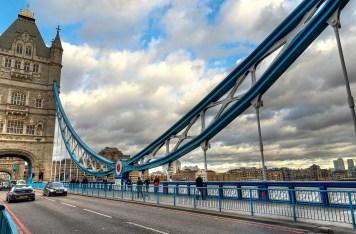 Tower Bridge suspension, London