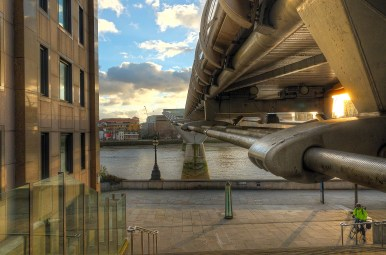 Millenium Bridge, London, UK