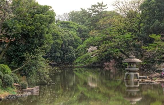 Lake in Tokyo Park